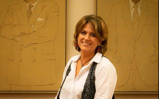 La ministra Dolores Delgado cree que la pancarta contra Felipe VI 'no procedía' aunque cree que es algo 'secundario'