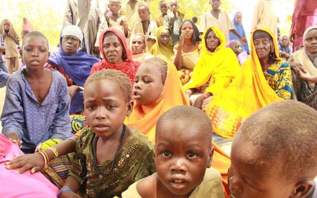 Más de 30 niños han muerto en apenas dos semanas por la 'crítica' situación humanitaria en Bama (Nigeria)
