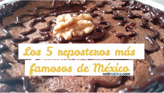Los 5 reposteros más famosos de México