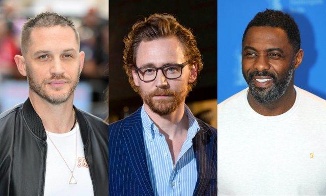 Tom Hardy Idris Elba y Tom Hiddleston para ser el nuevo James Bond pum pumm!