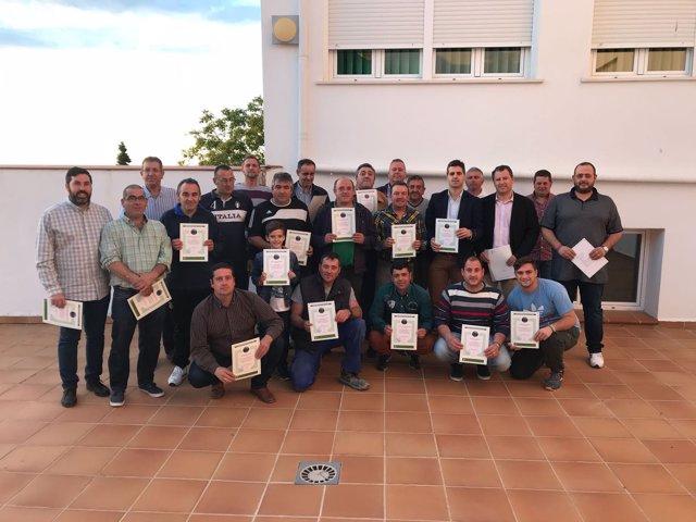 Curso de agricultores y ganaderos de al Diputación de Jaén