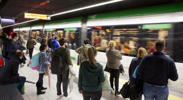 Metro de Málaga.