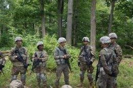 Alumnos de la Academia General Militar se instruyen en West Point