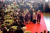 Foto: Dolor en Italia durante el funeral de estado por las víctimas del colapso del puente Morandi