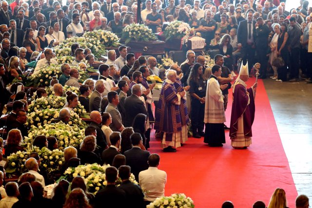 Funeral de estado por víctimas del puente Morandi