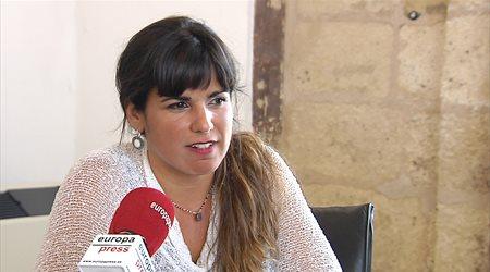 Teresa Rodríguez critica la actitud de la oposición respecto a RTVA