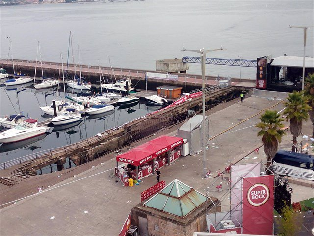 El puerto de Vigo, Galicia