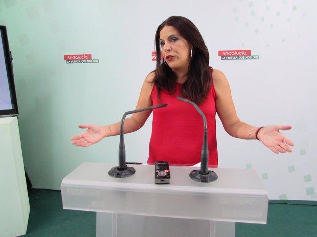 La secretaria de Formación del  PSOE-A, Ángeles Férriz