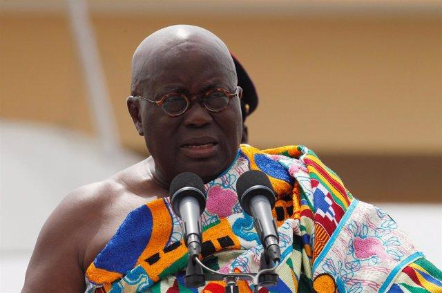 Nana Akufo-Addo, presidente de Ghana
