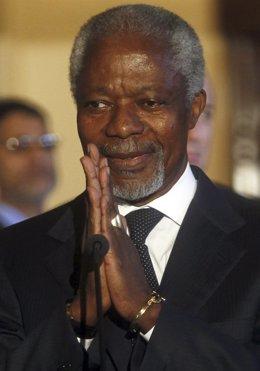 Kofi Annan Y Nabil Al Araby