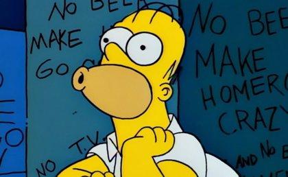 Así de grotesco sería Homer Simpson en la vida real