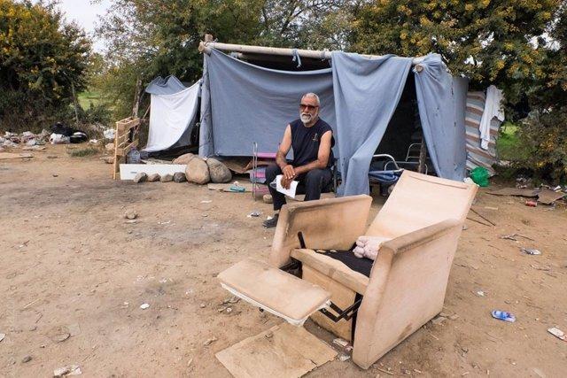 Inmigrante expulsado del CETI de Melilla