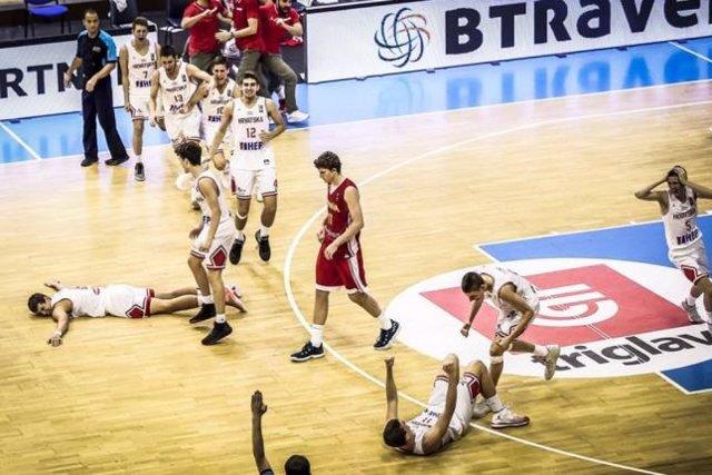 España roza el título en el Europeo Sub 16 de baloncesto masculino