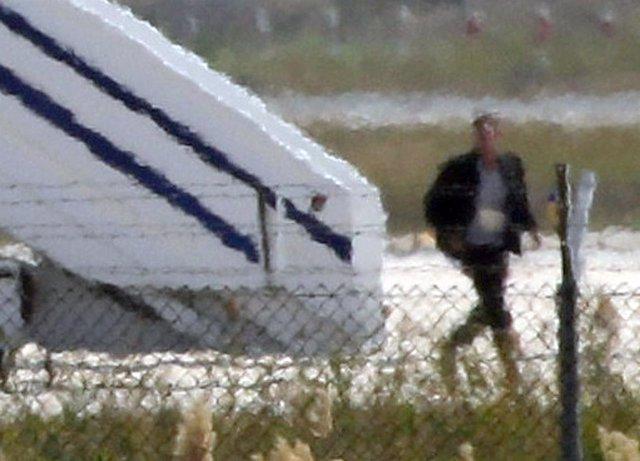 El supuesto secuestrado del avión de Egyptair secuestrado en Chipre