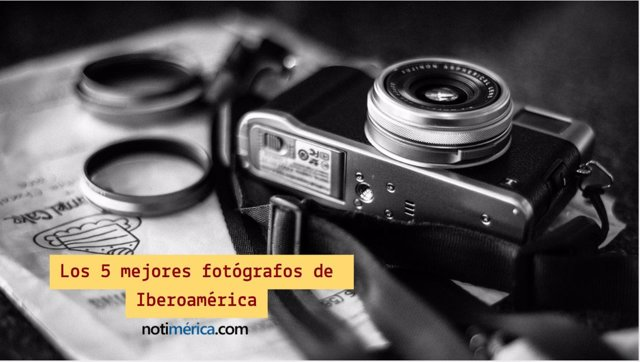 Los 5 mejores fotógrafos de Iberoamérica