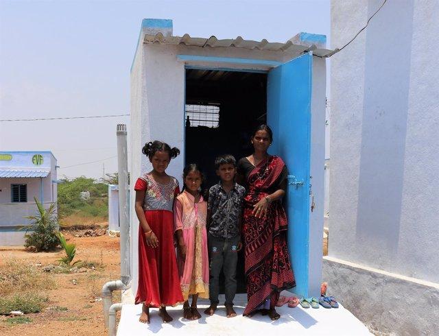 Letrinas en India