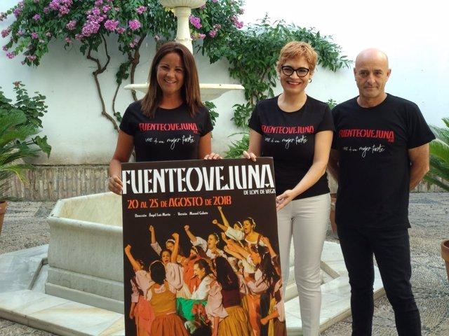 Ruz, entre Mellado y Martín, presenta 'Fuenteovejuna'