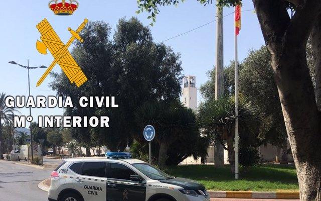 La Guardia Civil investiga a una persona por simular ser víctima de un robo con violencia en Almería