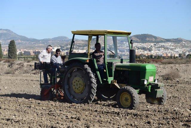 Agricultores de Granada