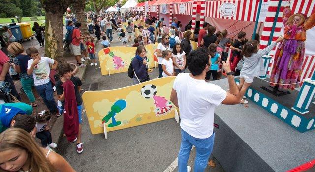 Apertura txikigune en el parque de Doña Casilda.
