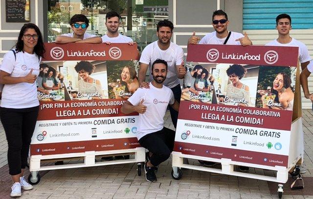 Un malagueño crea linkinfood plataforma comida contacto cocineros y usuarios