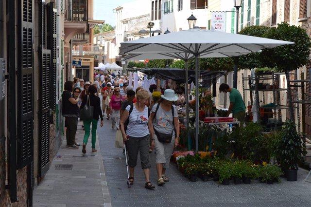 Una calle de Sant Llorenç
