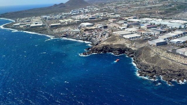 Imagen del vertido en Tenerife