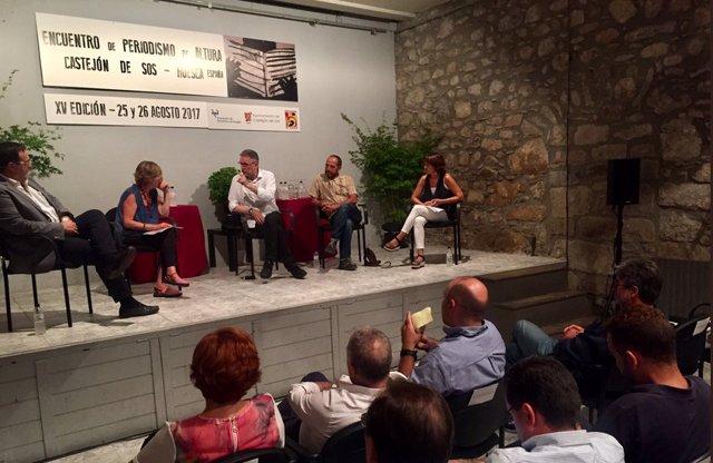 Pasada edición del Encuentro 'Periodismo de Altura'.