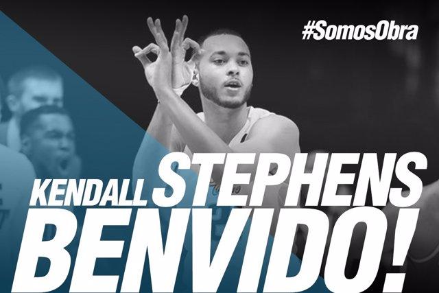El Monbus Obradoiro ficha al alero estadounidense Kendall Stephens