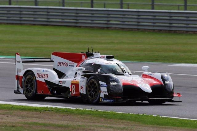 Fernando Alonso (Toyota GAZOO Racing), en Silverstone