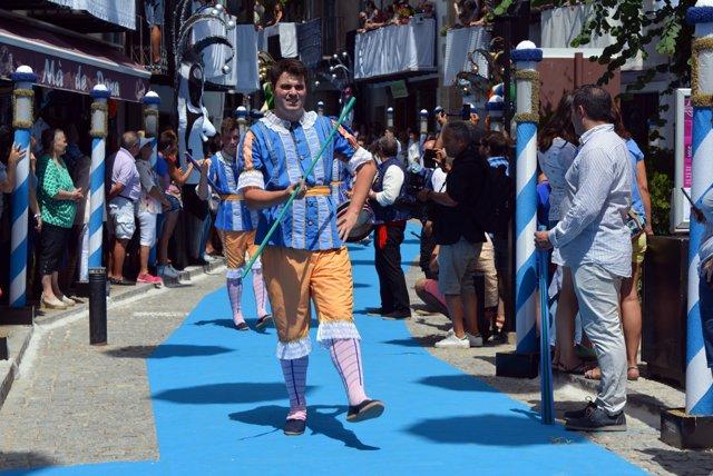 Danses dels Torneros en el Sexenni de Morella de 2018, baile, tradicional, típic