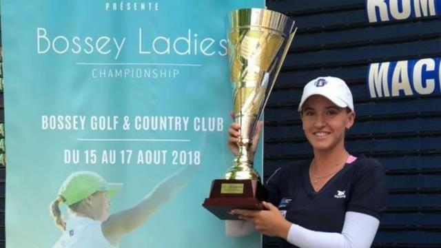 Elia Folch se apunta la victoria en el Bossey Ladies Championship