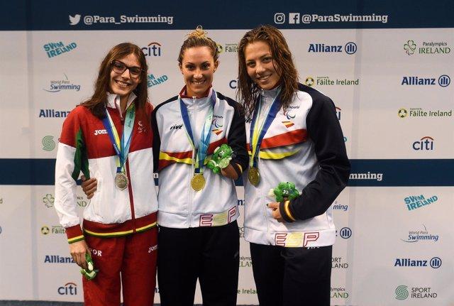 España concluye con 52 medallas el Europeo de natación paralímpica