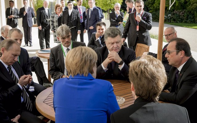El Kremlin anuncia que la próxima cumbre del cuarteto de Normandía se celebrará en París
