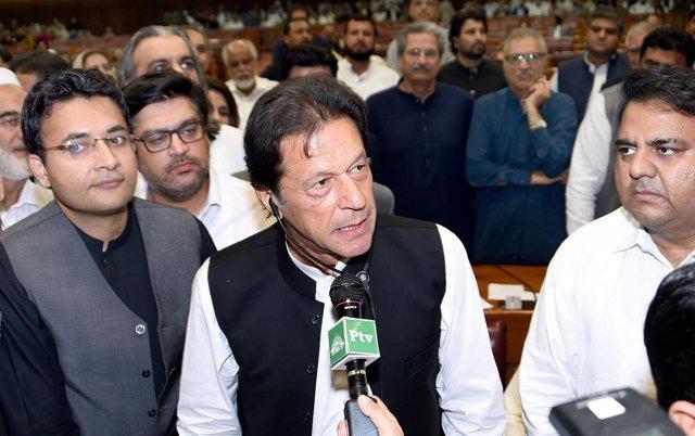 Imran Khan, nuevo primer ministro de Pakistán