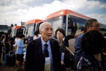 Más de un centenar de familias coreanas separadas por la guerra podrán reunirse durante un día en Corea del Norte