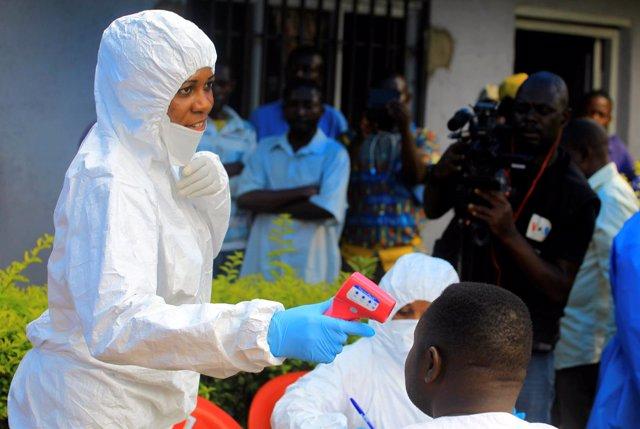 Campaña contra el ébola en Kivu Norte
