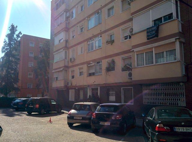 La vivienda del atacante de la comisaría de los Mossos en Cornellà