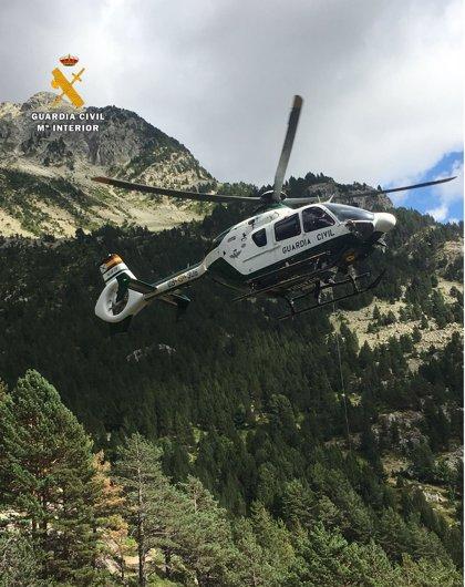 La Guardia Civil efectúa ocho rescates este sábado y domingo en distintas zonas de Aragón