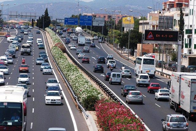 Tráfico en la Via de Sintura