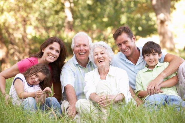 Familia, abuelos