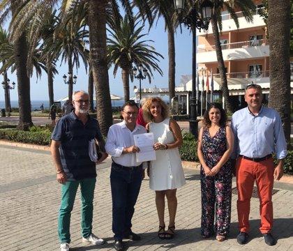 El PSOE valora el compromiso del Gobierno de terminar este año la obra principal de la depuradora de Nerja