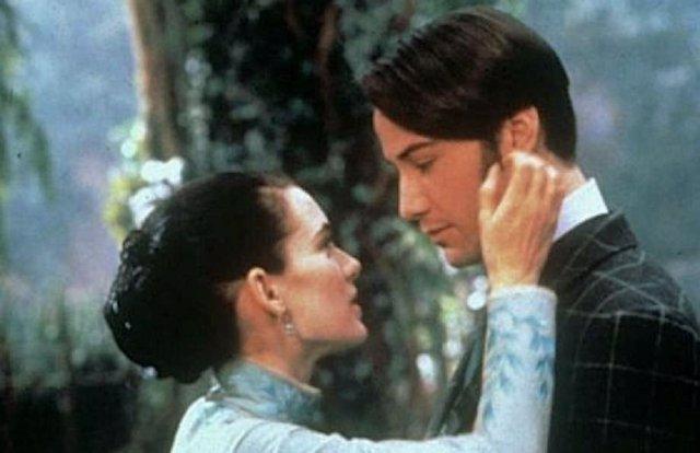 Winona Ryder y Keanu Reeves se casan