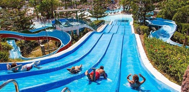 Parque Acuático, ocio Costa del Sol