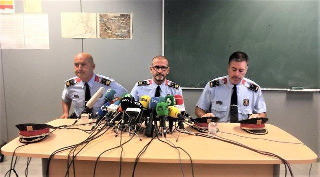 Rafel Comes, comisario de Mossos d'Esquadra