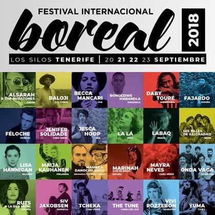 El Festival Boreal de Los Silos ofrecerá 25 conciertos y duplica el cartel de artistas