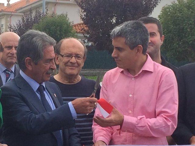 Miguel Ángel Revilla y Pablo Zuloaga