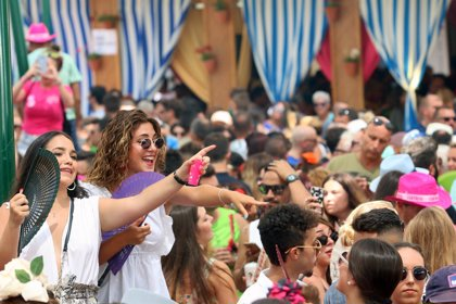"""Mahos valora la Feria del centro que """"ha ido bien, con muy buen ambiente"""" y con un consumo """"parecido"""" a 2017"""