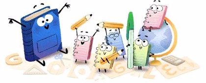 Google celebra con un 'doodle' el primer día de colegio en México
