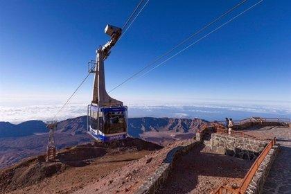El Teleférico del Teide reanuda su actividad tras el incidente del sábado